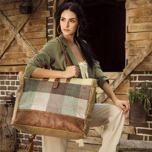 Handbags - New Multi Color Chunk Weekender Travel Bag